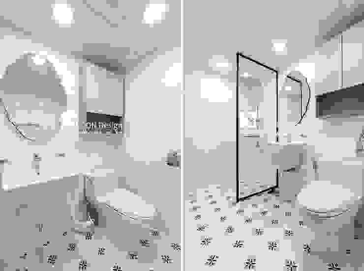 안방욕실 클래식스타일 욕실 by 곤디자인 (GON Design) 클래식