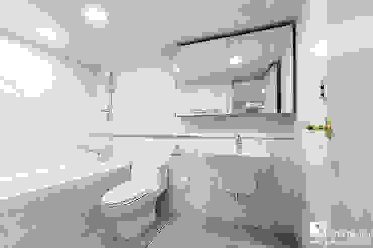 거실욕실 클래식스타일 욕실 by 곤디자인 (GON Design) 클래식