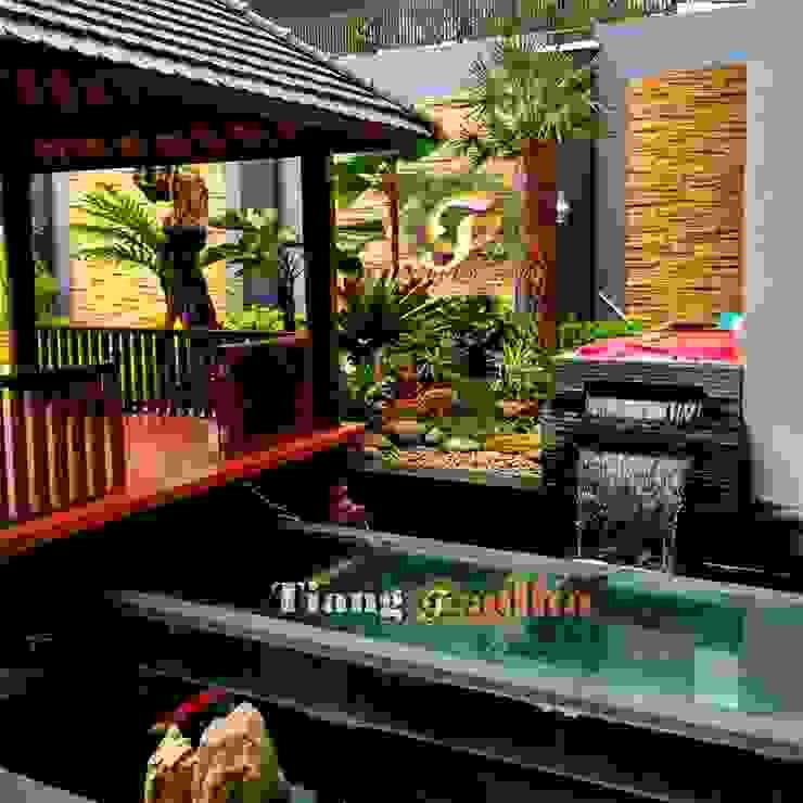Tukang kolam ikan koi sidoarjo Oleh Tukang Taman Surabaya - Tianggadha-art Minimalis Batu Pasir