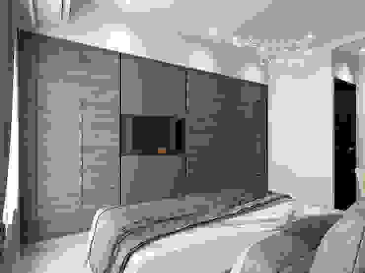 主臥室 根據 木博士團隊/動念室內設計制作 現代風