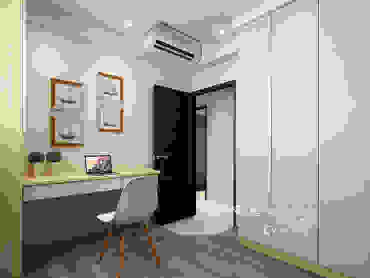客房 根據 木博士團隊/動念室內設計制作 現代風