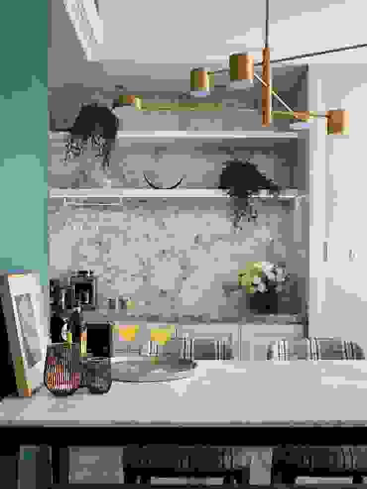 療癒系美式宅邸 根據 陶璽空間設計 現代風