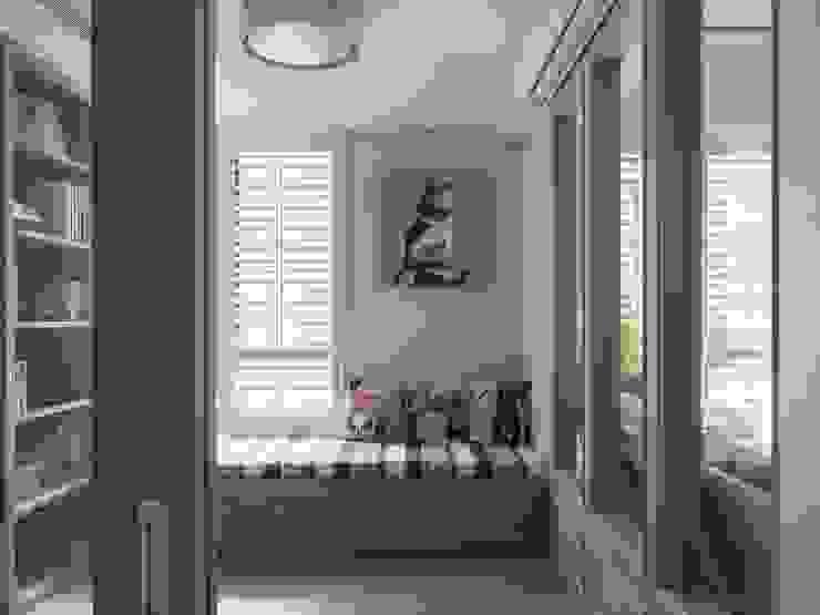 療癒系美式宅邸: 極簡主義  by 陶璽空間設計, 簡約風 木頭 Wood effect