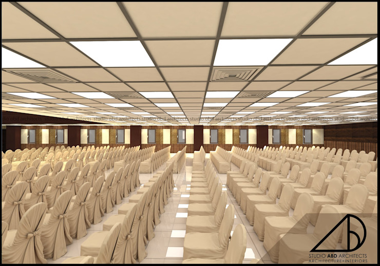 Interior Design For An Auditorium At Bangalore By Studio Abd Architects Homify