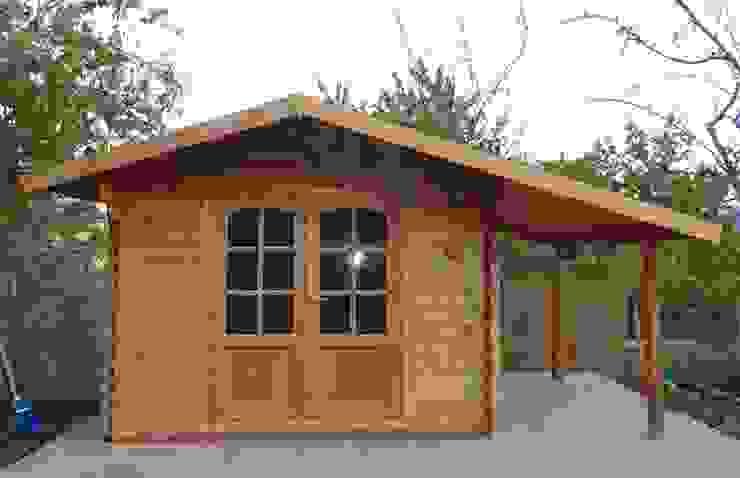 DEKALUX OgródMeble ogrodowe Drewno Brązowy