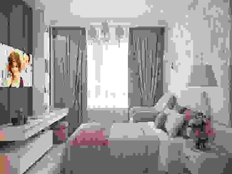 Спальня в современной классике от Андреевы.РФ Классический