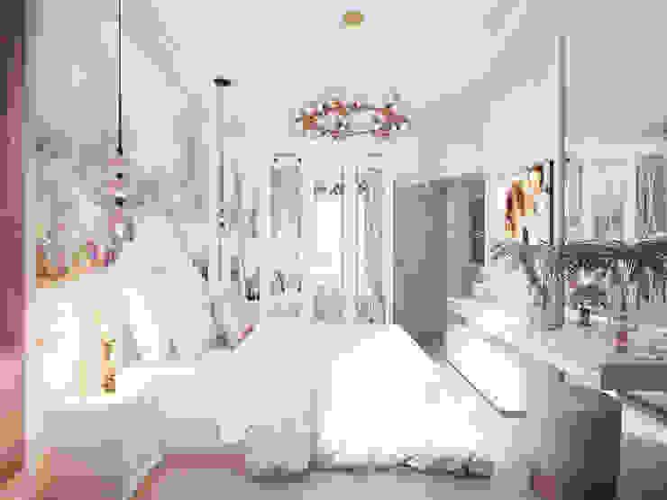Спальня в классике. Вид от окна. Спальня в классическом стиле от Андреевы.РФ Классический