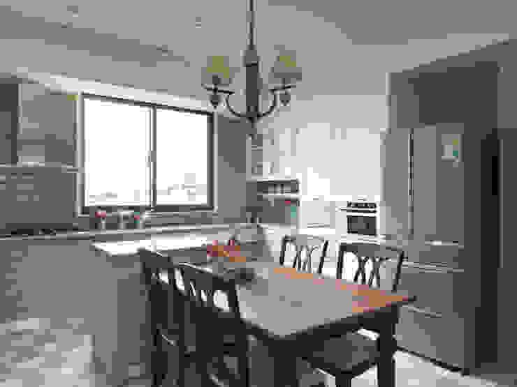 陶璽空間設計 KitchenTables & chairs Brown