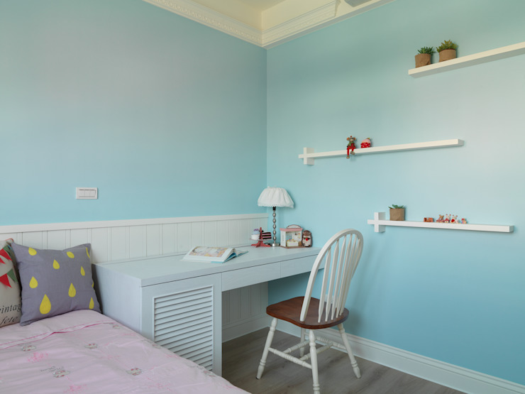 陶璽空間設計 Wände & BodenFarben und Lasuren Blau