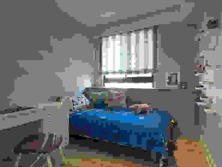陶璽空間設計 Nursery/kid's roomBeds & cribs Blue