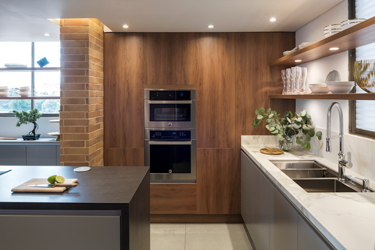 Mueble de hornos de CHAVARRO ARQUITECTURA Moderno