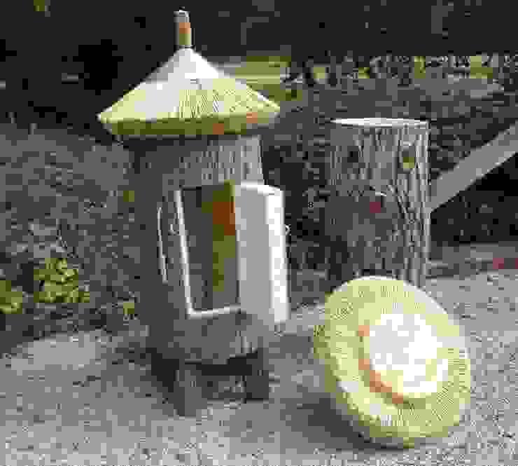 Klotzbeute Holzbau Bohse Rustikaler Garten Holz