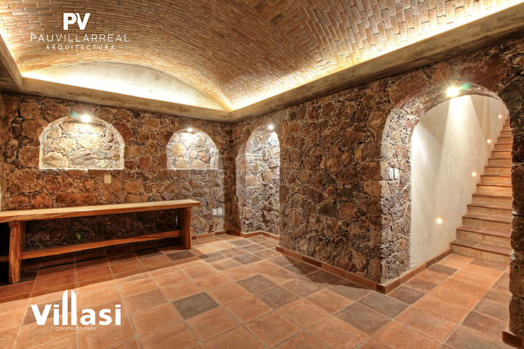 식민지스타일 와인 저장고 by VillaSi Construcciones 콜로니얼 (Colonial)