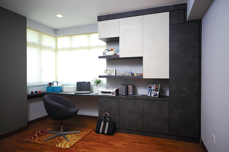 Asian style study/office by Ax Image Group Asian