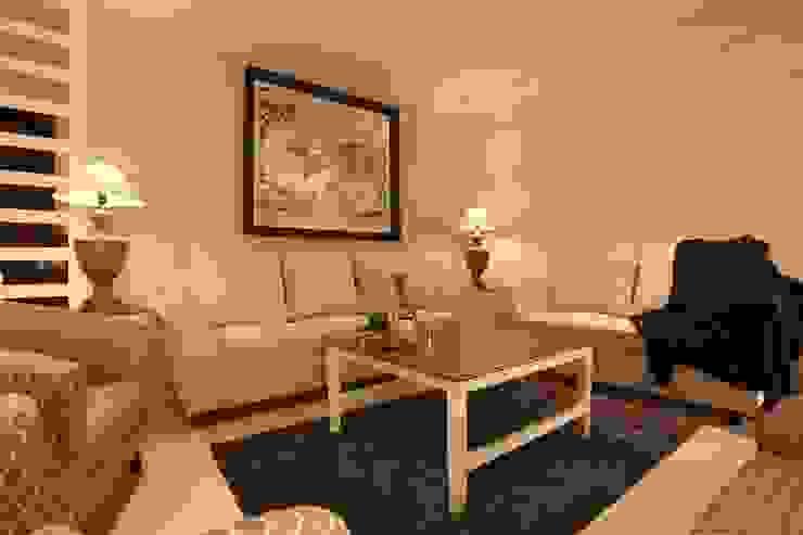 Living Room Saloni Narayankar Interiors Modern Living Room Wood White