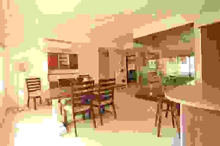 Dining Room Saloni Narayankar Interiors Dining roomTables Wood White