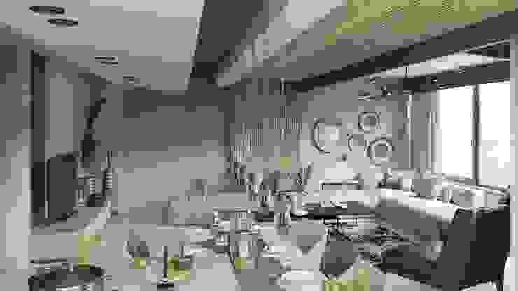 Sui Architecture | House Design Sui Mimarlık Modern Oturma Odası