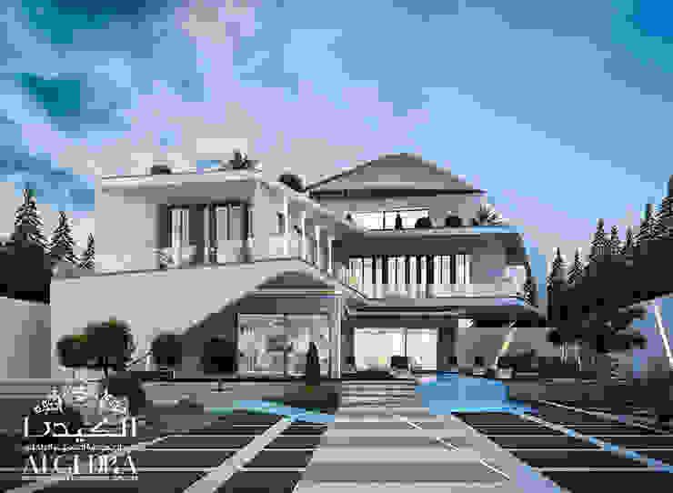 تصميم خارجي لفيلا على الطراز الحديث من Algedra Interior Design حداثي