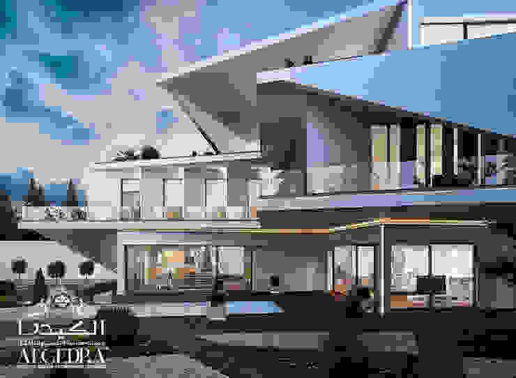 تصميم خارجي لفيلا فاخرة في إسطنبول من Algedra Interior Design حداثي