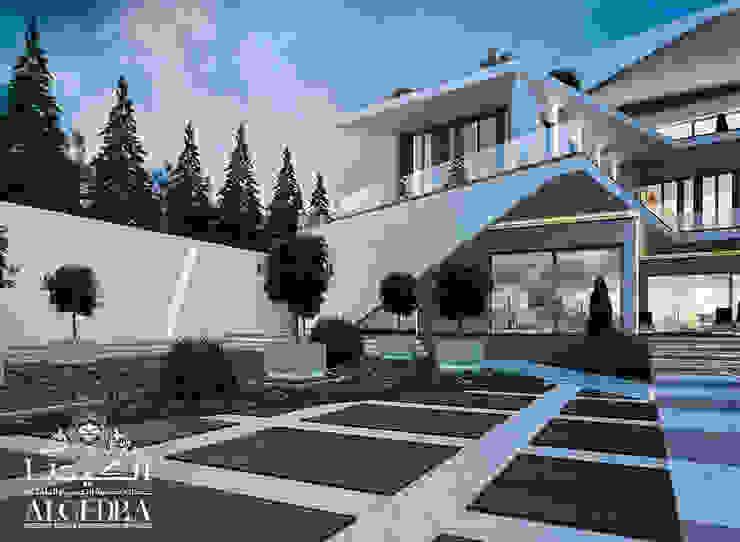 تصميم خارجي ومناظر طبيعية لفيلا فاخرة من Algedra Interior Design حداثي