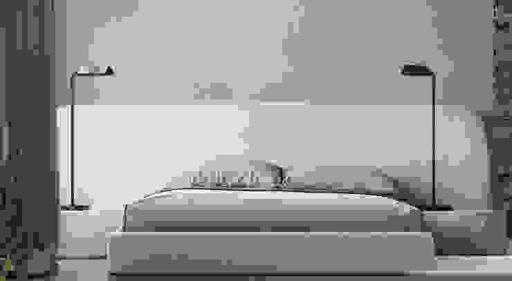 he.d group Small bedroom Aluminium/Zinc Grey