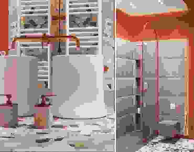 Scandinavian style bathroom by he.d group Scandinavian