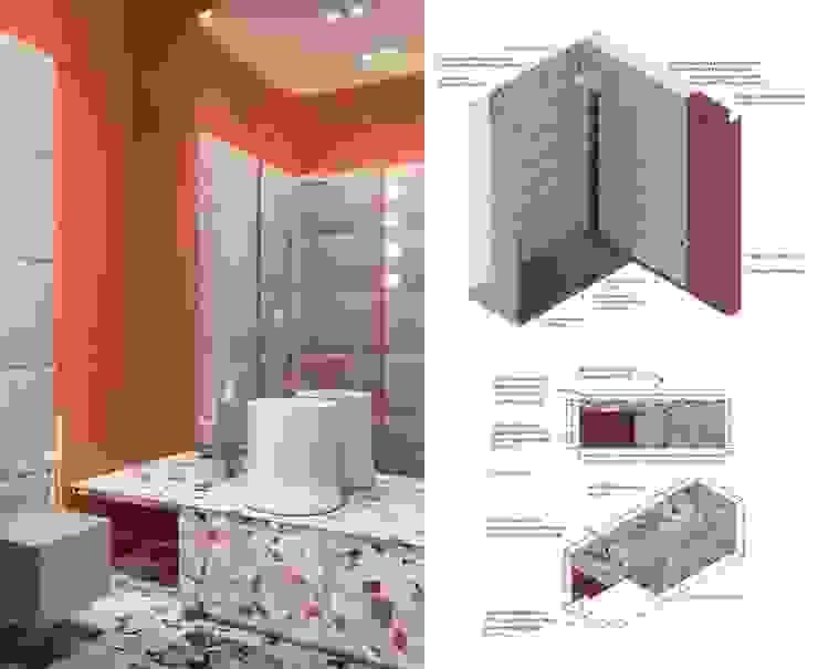 he.d group Scandinavian style bathroom