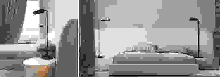 he.d group Small bedroom Aluminium/Zinc Green