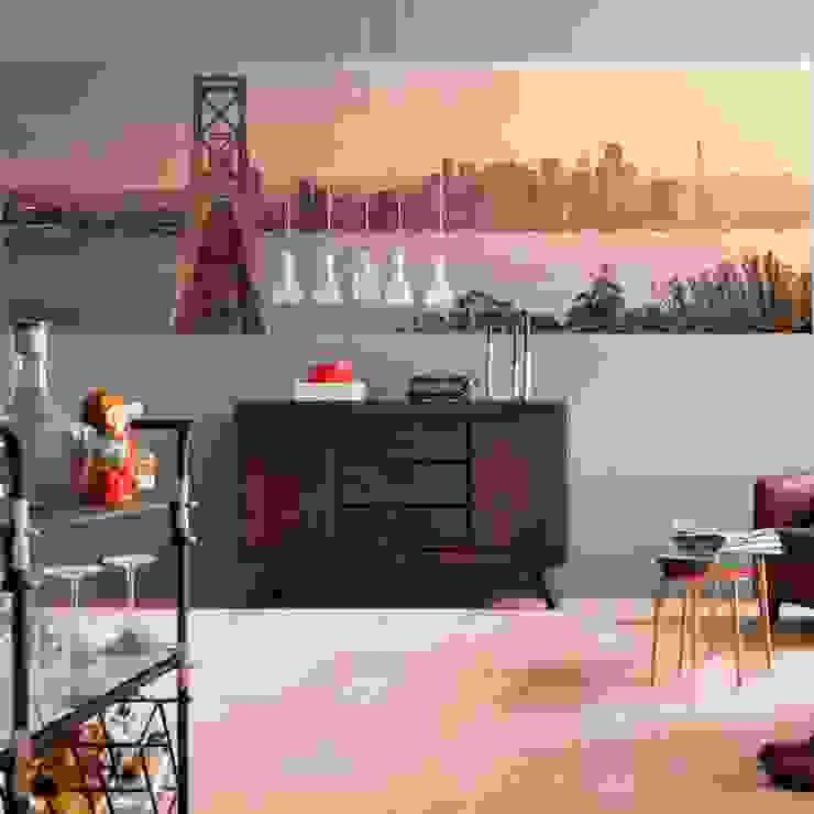 Papel Tapiz California Dreaming Decorex Paredes y pisos de estilo moderno