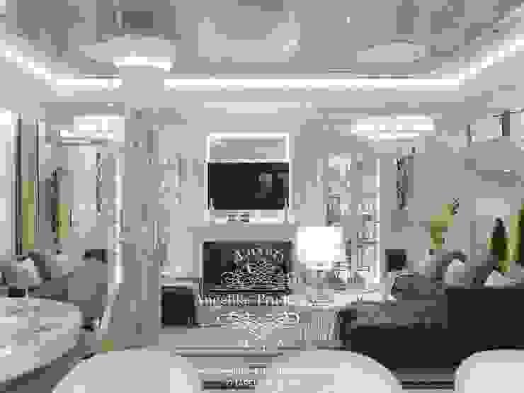Salas de estilo clásico de Дизайн-студия элитных интерьеров Анжелики Прудниковой Clásico