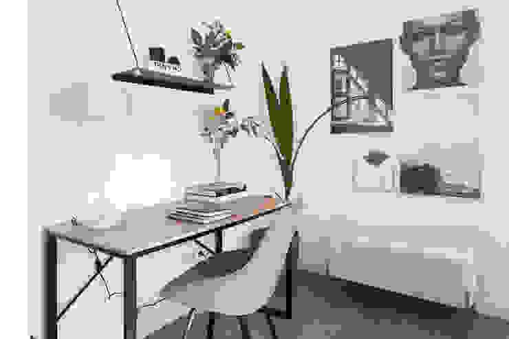 Elegante y sofisticado Estudios y despachos de estilo escandinavo de SLOW & CHIC Escandinavo