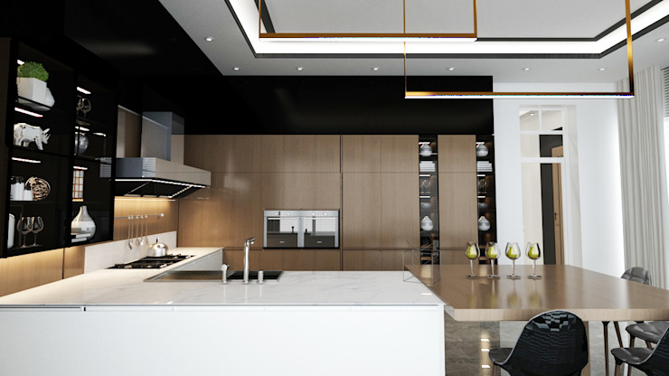 Loop Projects Modern Kitchen