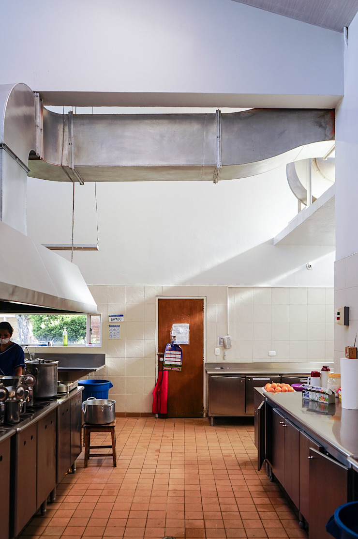 Cocina Cocinas de estilo minimalista de ENSAMBLE de Arquitectura Integral Minimalista