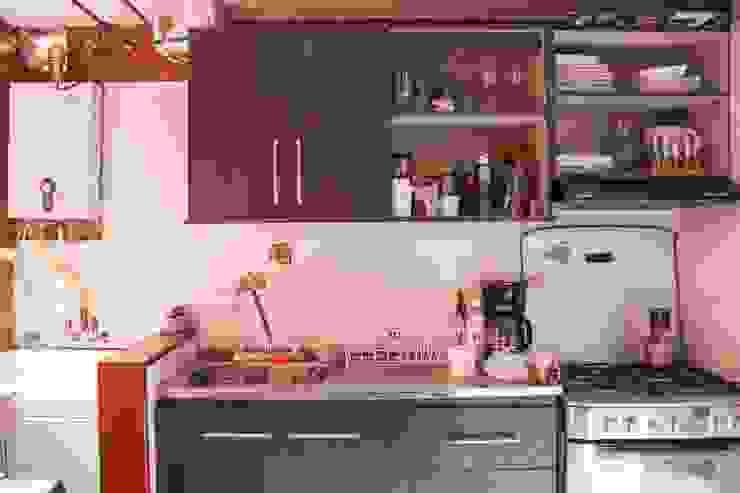 Cocina Antes de ENSAMBLE de Arquitectura Integral