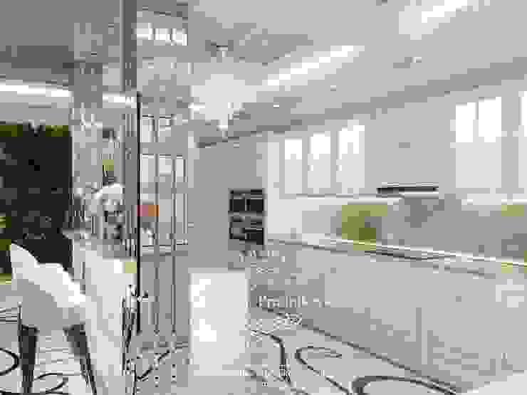 Cocinas de estilo clásico de Дизайн-студия элитных интерьеров Анжелики Прудниковой Clásico