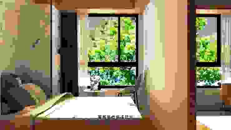 桃園力行路居家裝潢_臥室 根據 麗馨室內裝潢設計 LS interior design 日式風、東方風 木頭 Wood effect