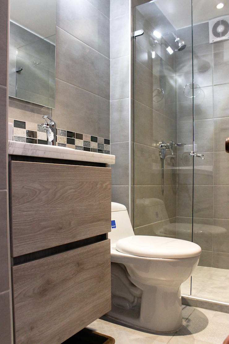 Baño 2 Después de ENSAMBLE de Arquitectura Integral