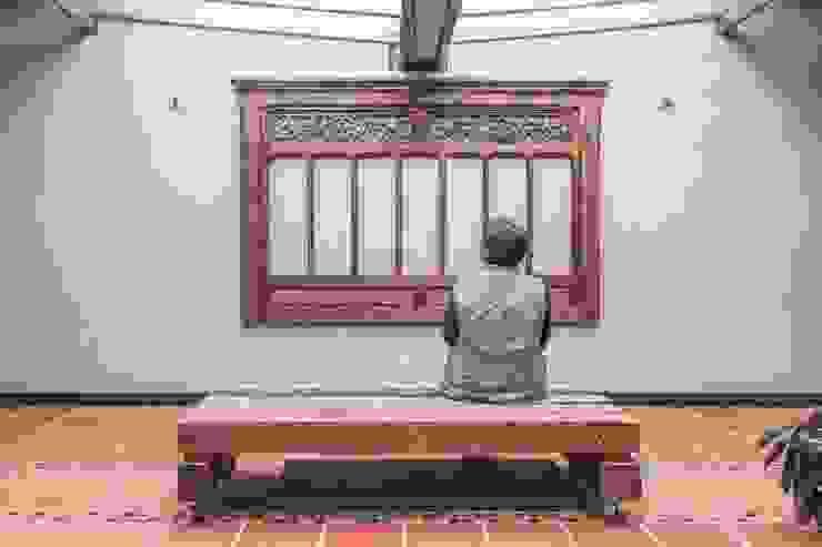 Patio Principal Jardines de estilo minimalista de ENSAMBLE de Arquitectura Integral Minimalista
