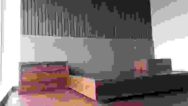 RECAMARA BASALTO de ACY Diseños & Muebles Moderno Textil Ámbar/Dorado