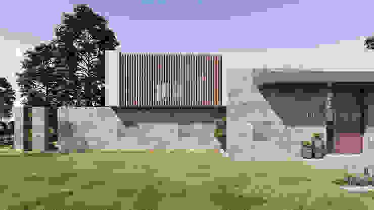 Villa 206 Mimari Tasarım CM² Mimarlık ve Tasarım Stüdyosu Modern