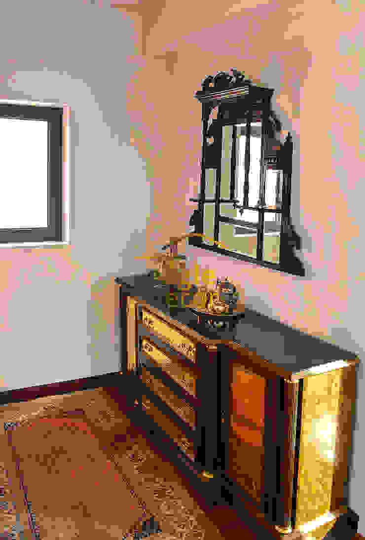 Duplex heritage City, Gurugram Classic style bedroom by Eagle Decor Classic