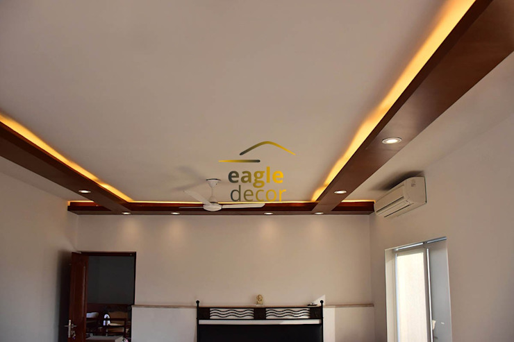 Duplex heritage City, Gurugram Classic style living room by Eagle Decor Classic