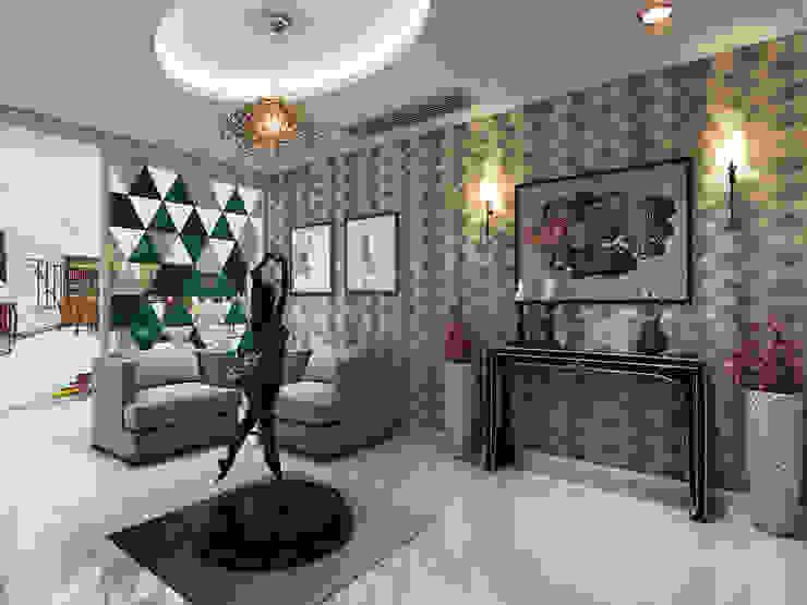 Residence Patel Nager Delhi Eagle Decor Modern living room