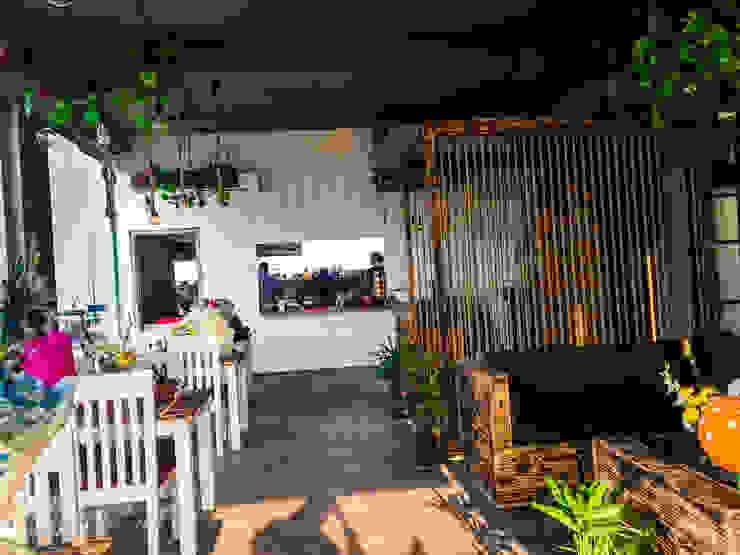 CAFE NOIDA Eagle Decor Balcony