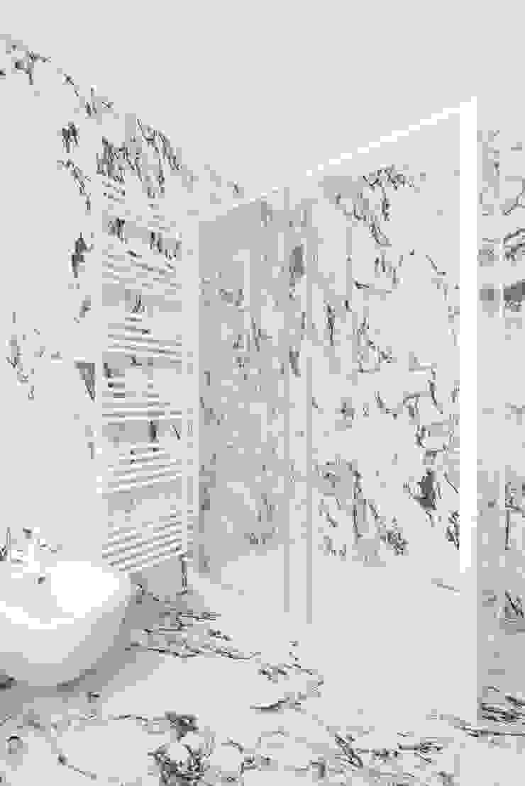 Paolo Fusco Photo ห้องน้ำ หินอ่อน White