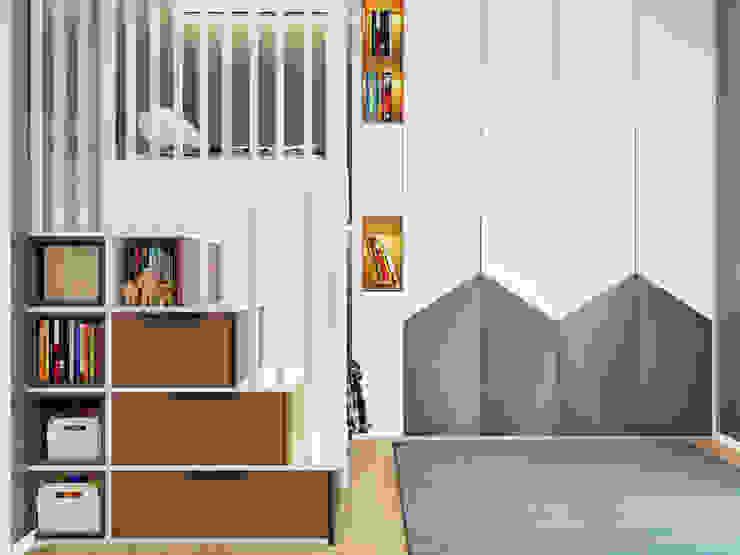 ArchSia – çocuk odası tasarımı: modern tarz , Modern Ahşap Ahşap rengi