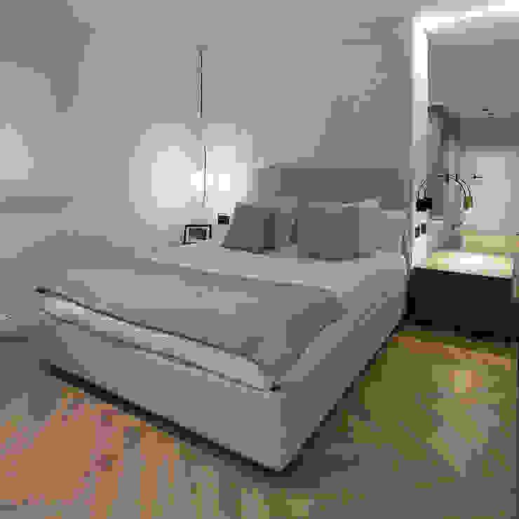 Dormitorio principal Dormitorios de estilo moderno de MANUEL GARCÍA ASOCIADOS Moderno