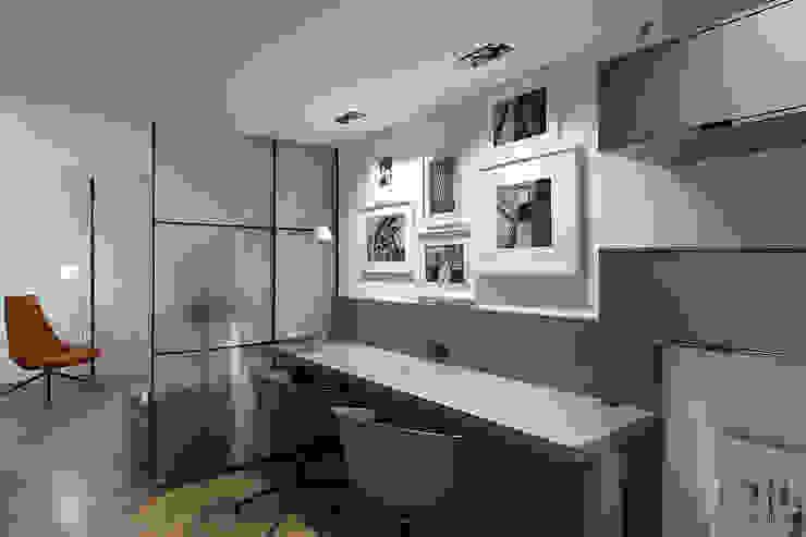 Zona de estudio Estudios y despachos de estilo moderno de MANUEL GARCÍA ASOCIADOS Moderno