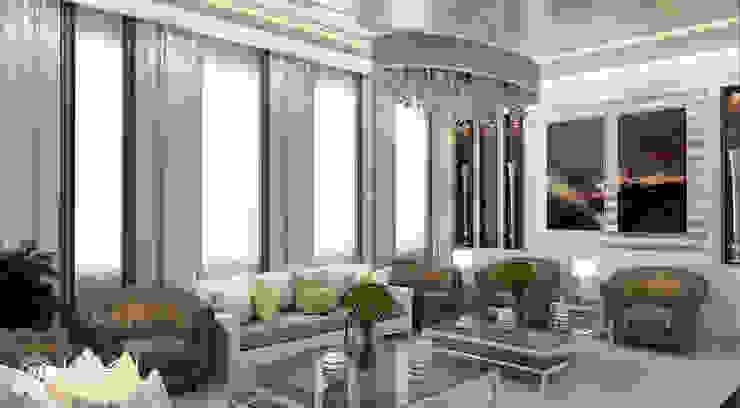 Ruang Keluarga Modern Oleh Algedra Interior Design Modern