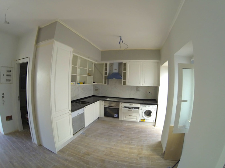 Remodelação de Cozinha por Congrau Engenharia Moderno